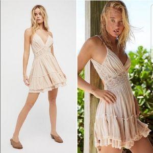 Free People 200 Degree Endless Summer Mini Dress